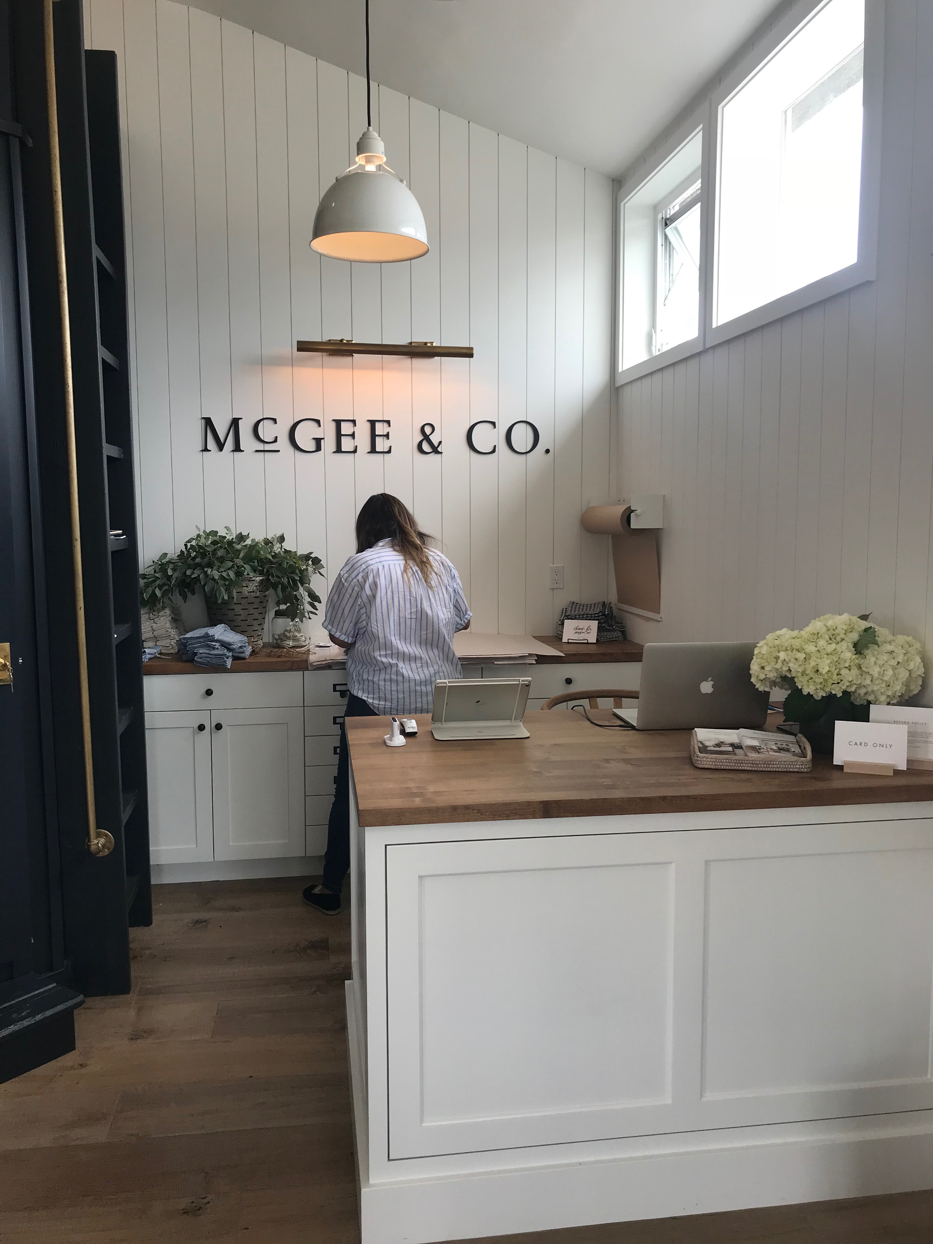 All about my visit to McGee & Co. store in Costa Mesa
