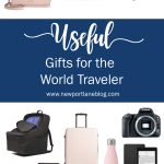 Shop this gift guide for useful gifts for the world traveler!