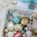 Our Blush, White and Blue Christmas Tree