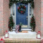 Our Christmas Front Porch