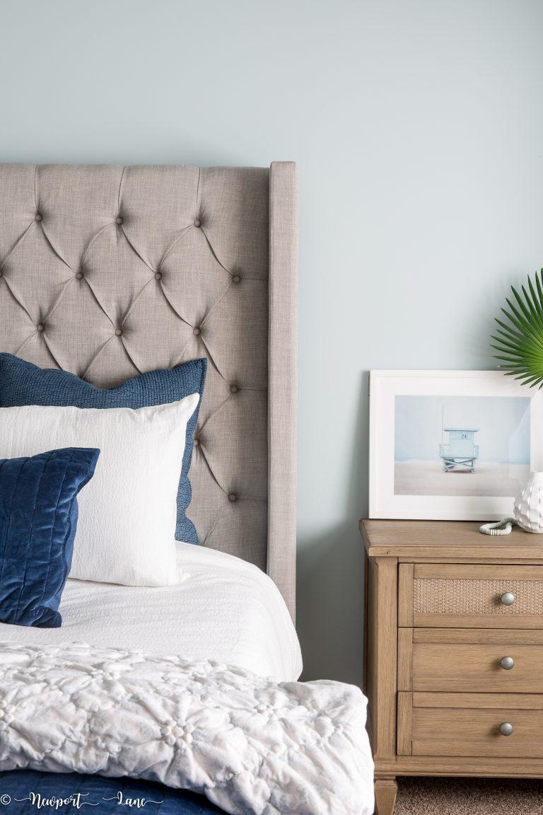 Our Modern Coastal Bedroom Makeover
