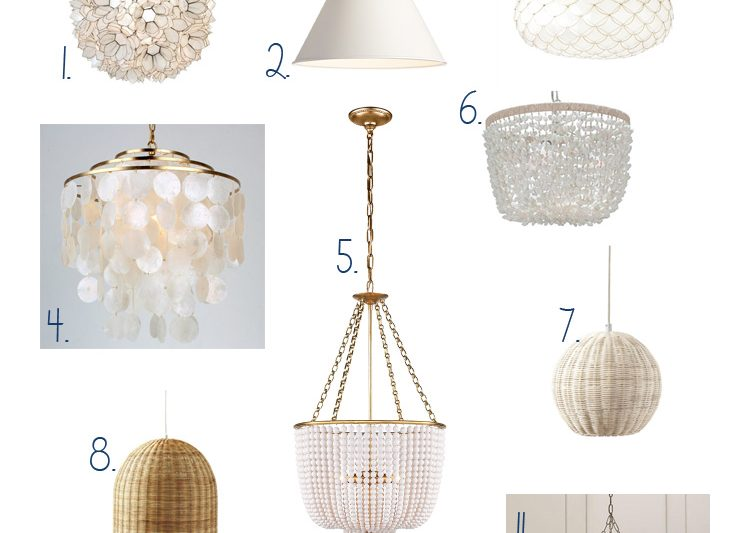 The best coastal pendant lights for any budget!