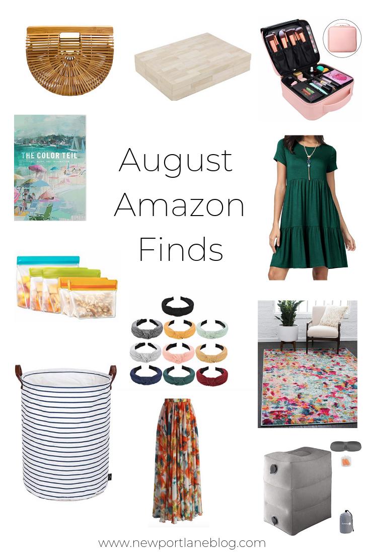 My August Amazon Finds. Best deals on Amazon. Favorite Amazon purchases. #amazon #shopamazon