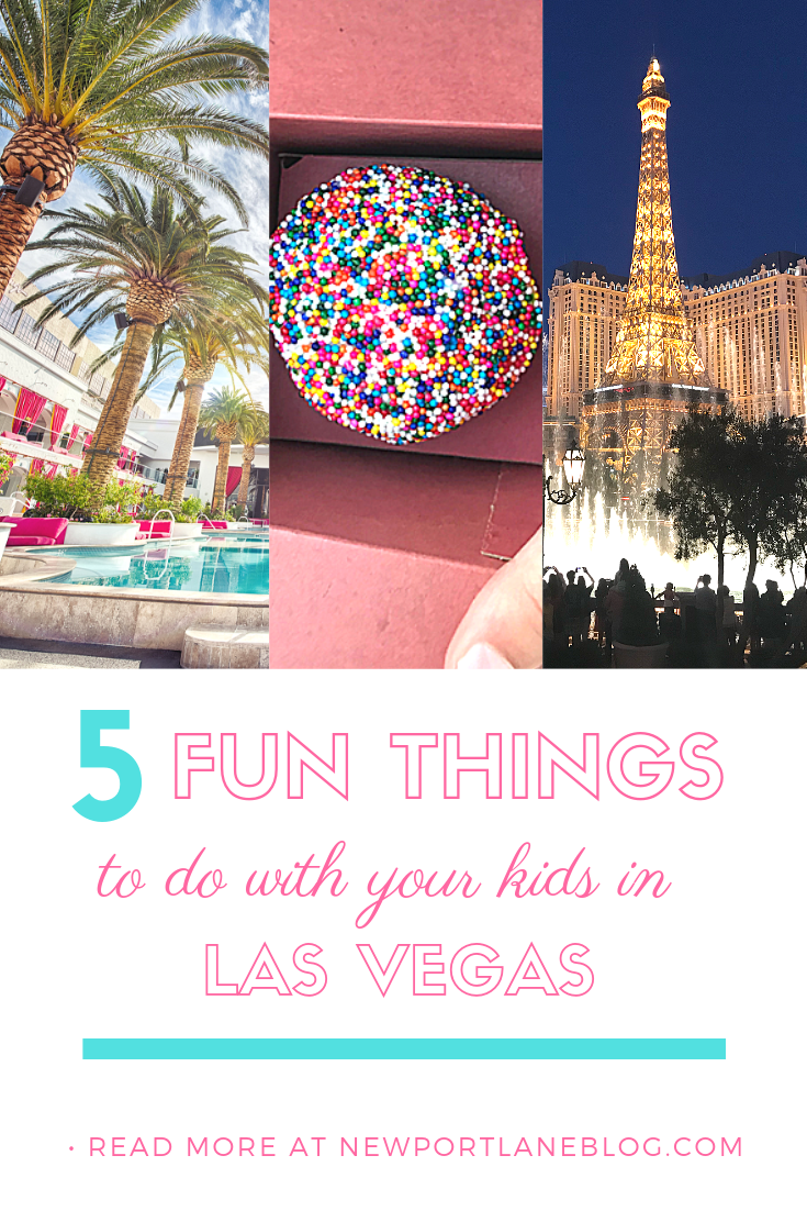 Discover 5 fun, family-appropriate things to do with your kids in Las Vegas. Family activities on the Strip in Las Vegas, Nevada. #lasvegas #lasvegaswithkids #lasvegasactivities