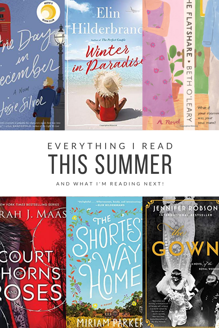 What I read this summer. A list of favorite books to read. #books #whattoread #bookstoread