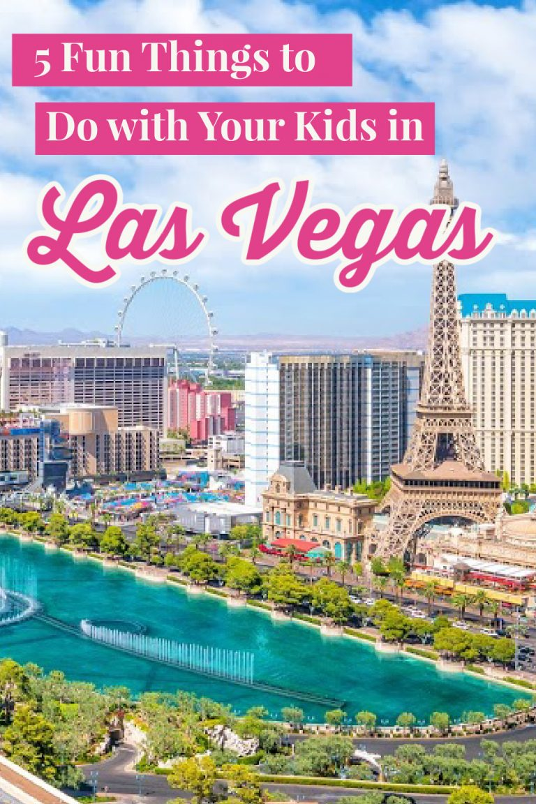 5 Fun Things to Do With Your Kids in Las Vegas