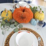 Simple + Easy Fall Tablescape Ideas