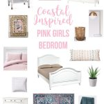 Coastal Inspired Pink Bedroom