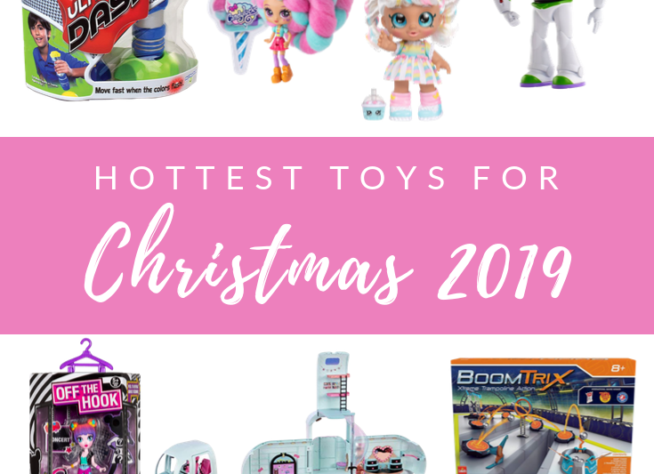 The ultimate gift guide for the hottest toys of 2019. Top toys of 2019 for kids of all ages. #hottesttoys #giftguides
