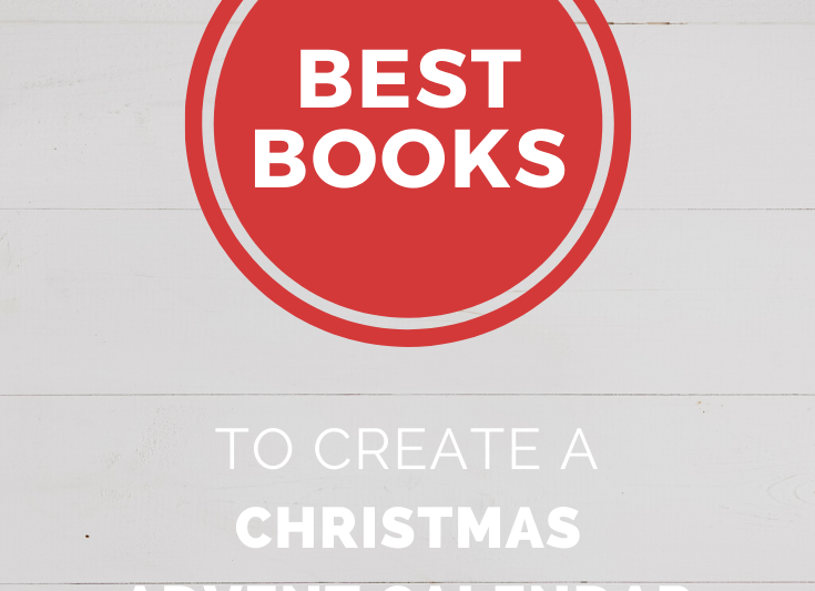 25 Best Books To Create a Christmas Advent Calendar. Use this guide to find out how to make a Christmas book advent calendar for kids. #christmas #books #traditions