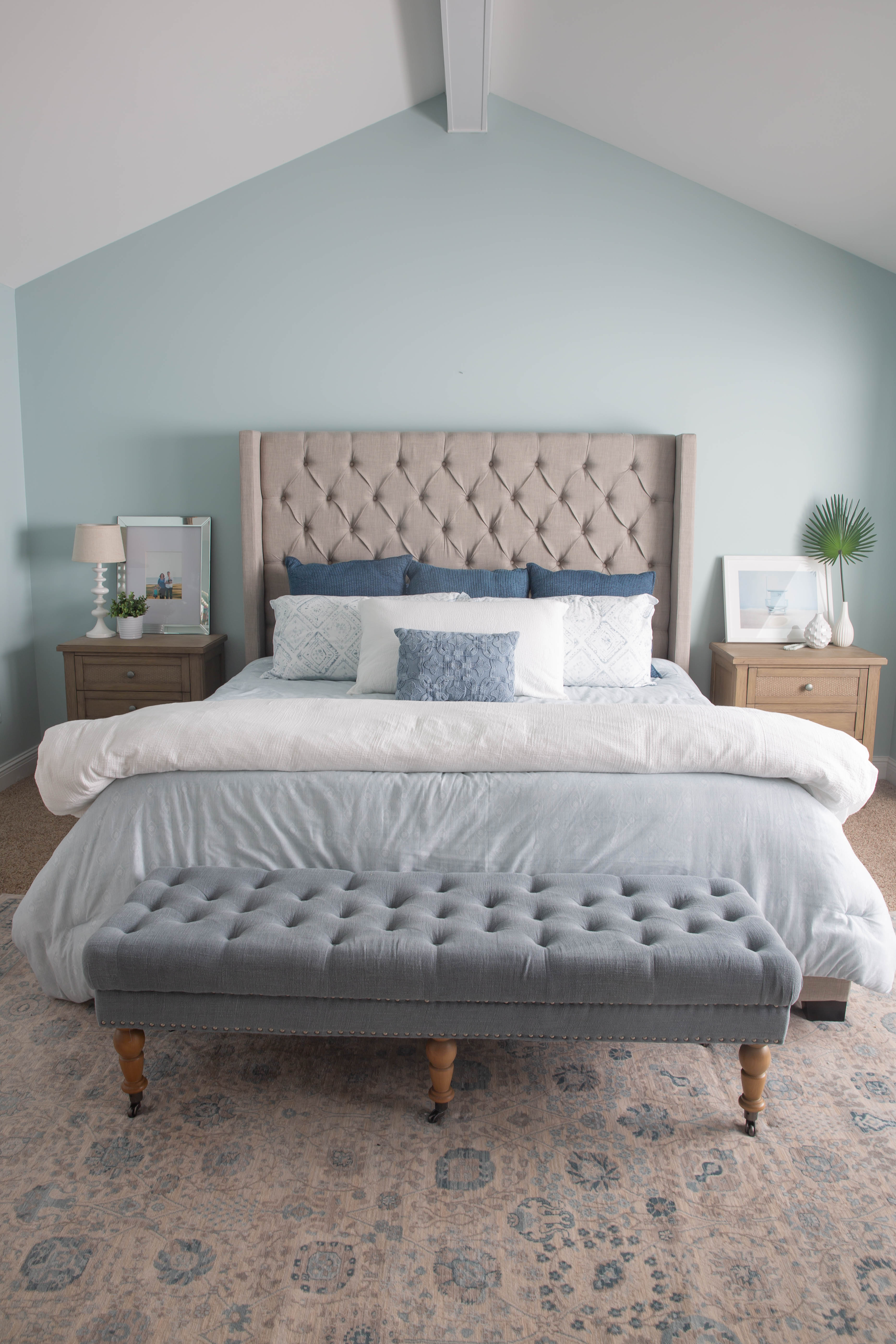 Before and After: Bedding Refresh