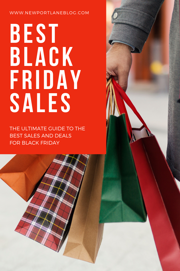 The ultimate guide to the best Black Friday seals and deals for 2019! #blackfriday #sales #shopping