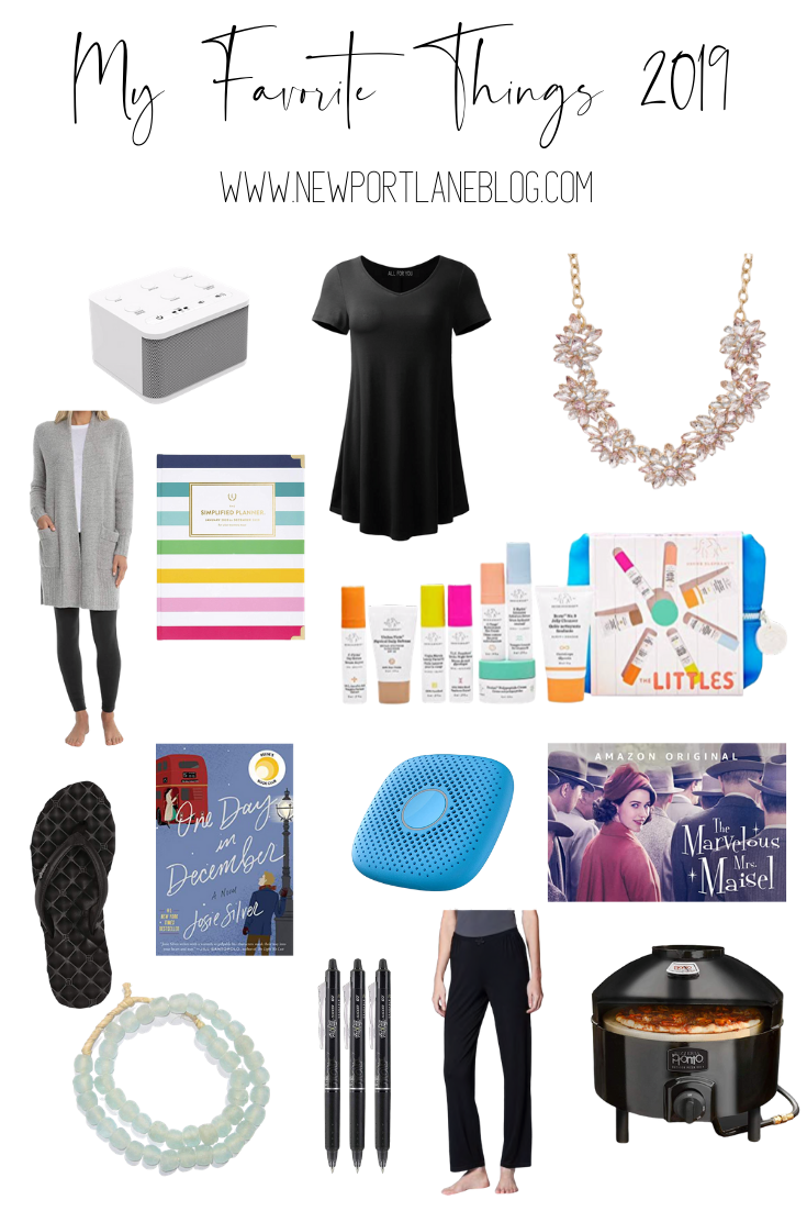 My favorite things 2019 gift guide. #gifts #giftguide #christmaspresents