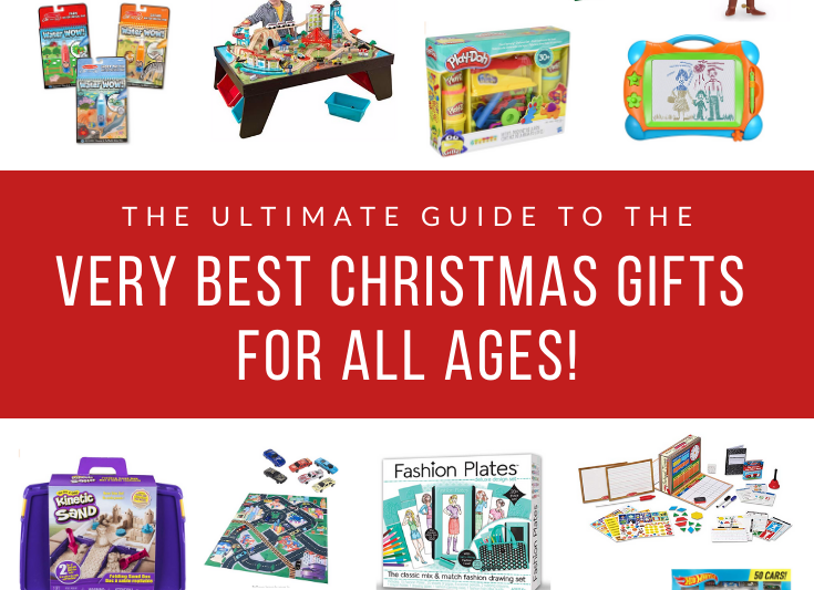 The Ultimate Guide to the Very Best Christmas Gifts for All Ages! #giftguide #christmasgifts #toys