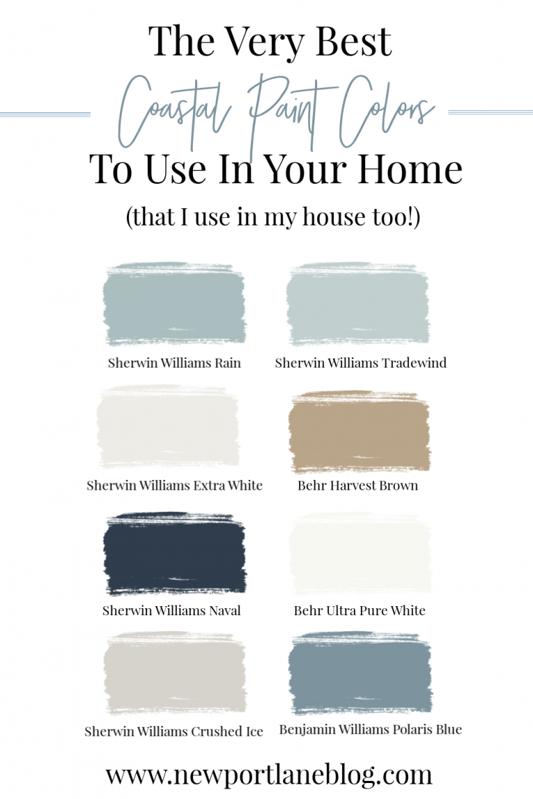 The Best Coastal Paint Colors for Your Home