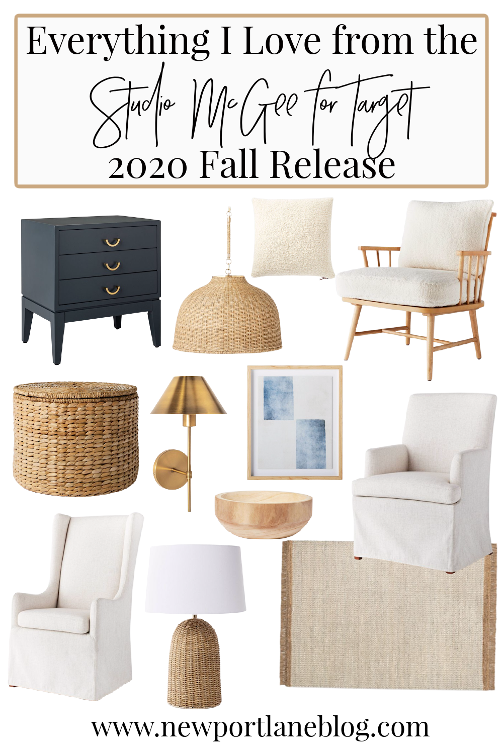 My favorite items from the new Studio McGee x Target fall collection. See everything I'm loving and buying! #target #studiomcgee #homedecor