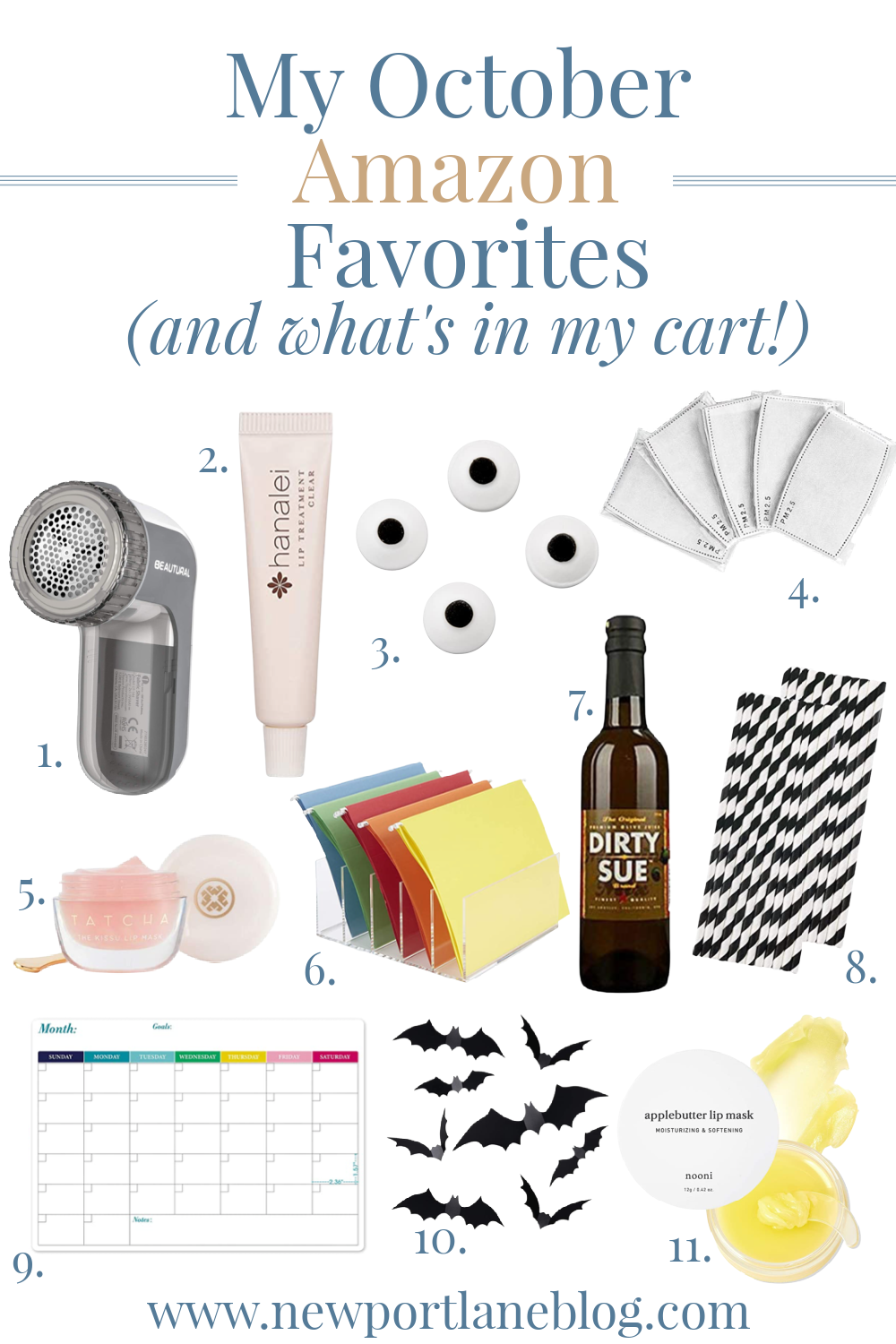 My October Amazon Favorites (and what's in my cart!)