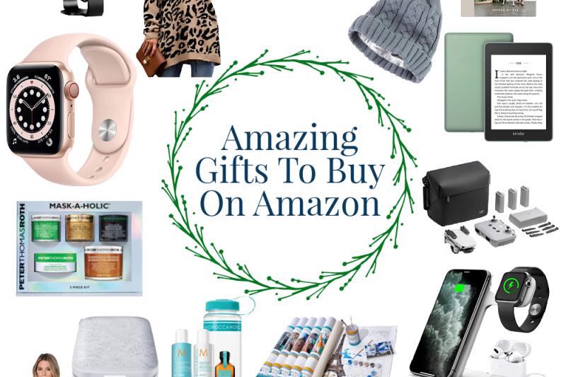 20 Amazing Gifts to Buy on Amazon #amazon #giftguide #christmas