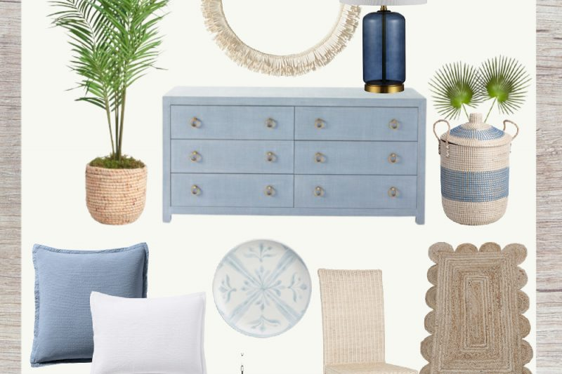 Coastal Home Decor - Blue and White Coastal Decor - Navy Blue Home Decor - Coastal Favorites