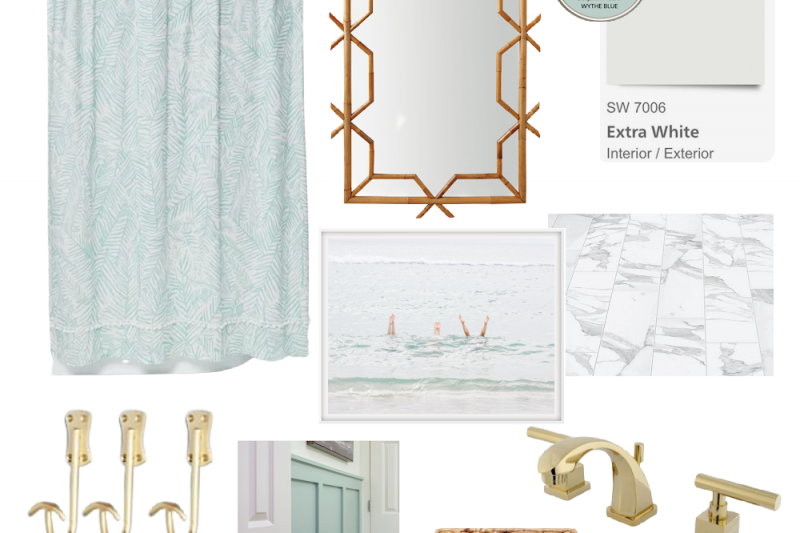 Coastal Bathrooms - Coastal Bathroom Decor - Coastal Bathroom Ideas - Coastal Bathroom Accessories - Coastal Bathroom Designs