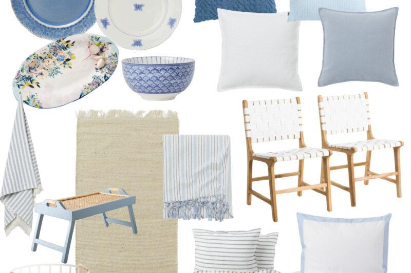 Coastal Home Decor | Light Blue and White Home Decor | Blue and White Home Decor | Blue Home Decor | White Home Decor | Blue and White