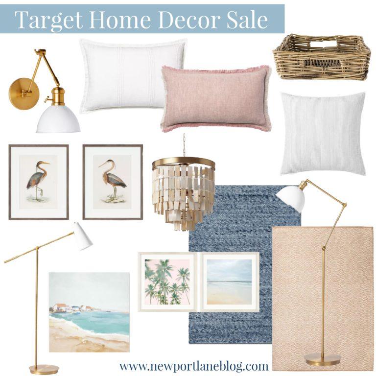 Target Home Decor Sale