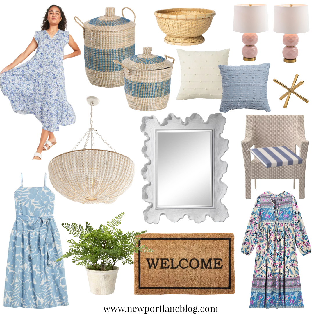 Coastal Home Decor   Light Blue and White Home Decor   Blue and White Home Decor   Blue Home Decor   White Home Decor   Blue and White   Summer Dresses   Chandeliers   Coastal Home Accessories