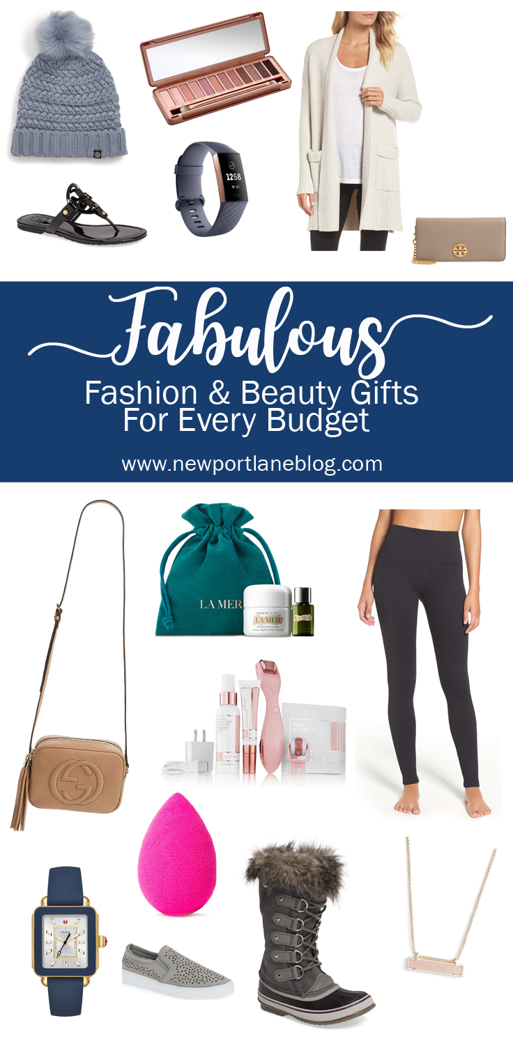 Gift Guide: Fashion & Beauty Gifts for Every Budget
