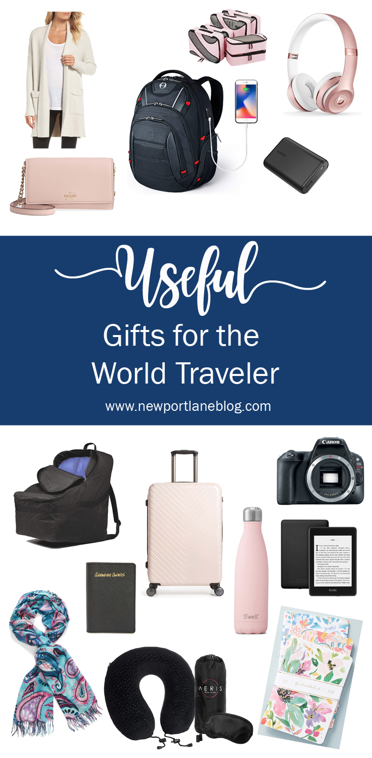 Gift Guide: Useful Gifts for the World Traveler