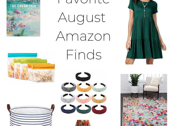 This post talks all about my favorite finds August Amazon finds. Read on to find out what I am loving!