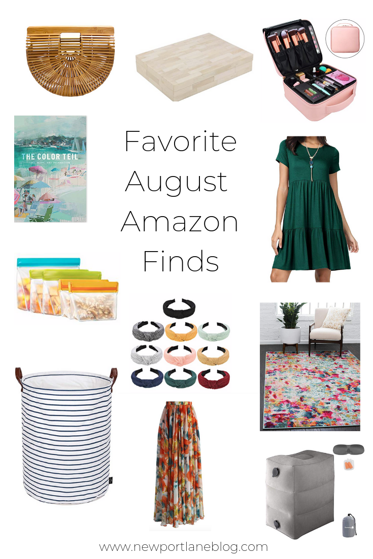 My August Amazon Finds