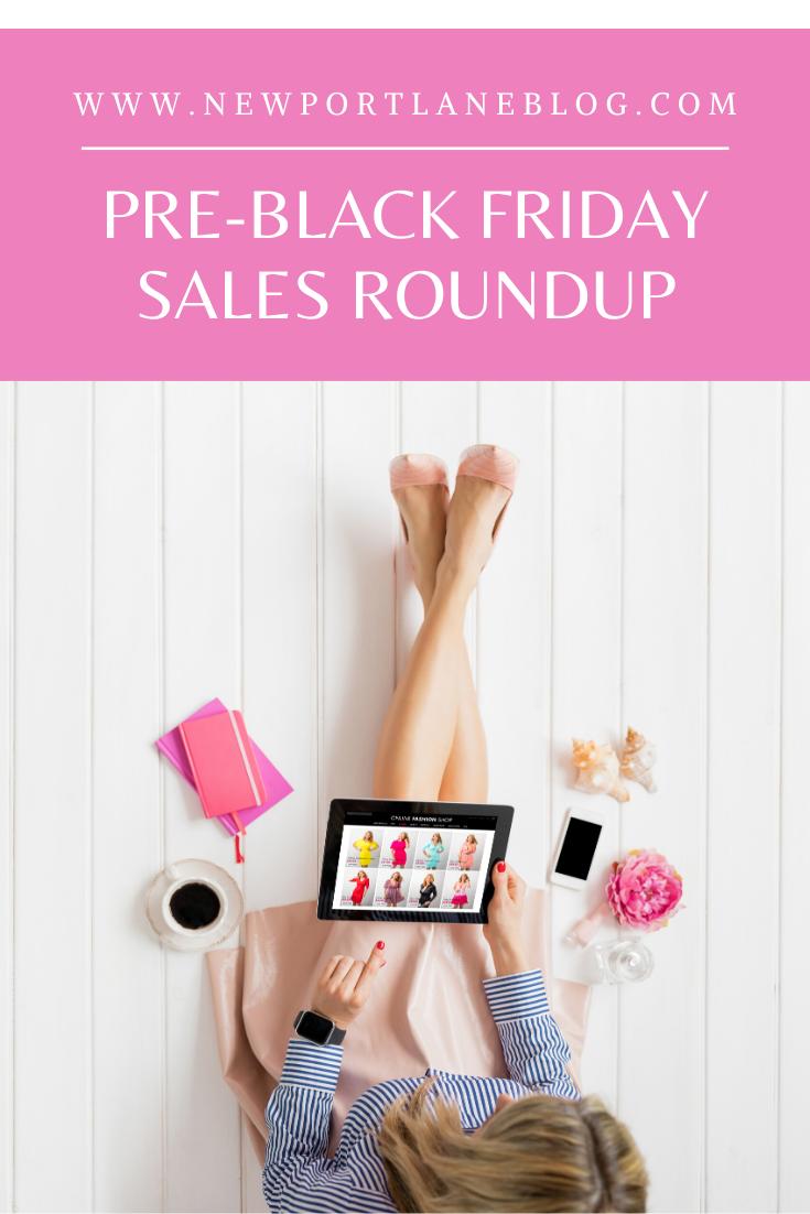 Pre Black Friday Sales Roundup