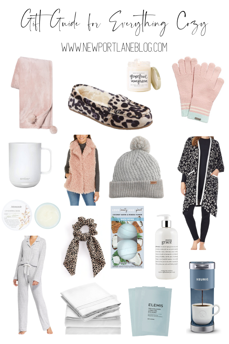 Gift Guide for Everything Cozy (aka What to Buy Your Favorite Homebody!)