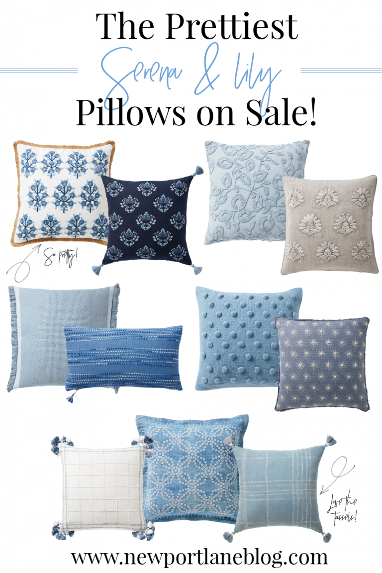 Serena and Lily Pillows on Sale!