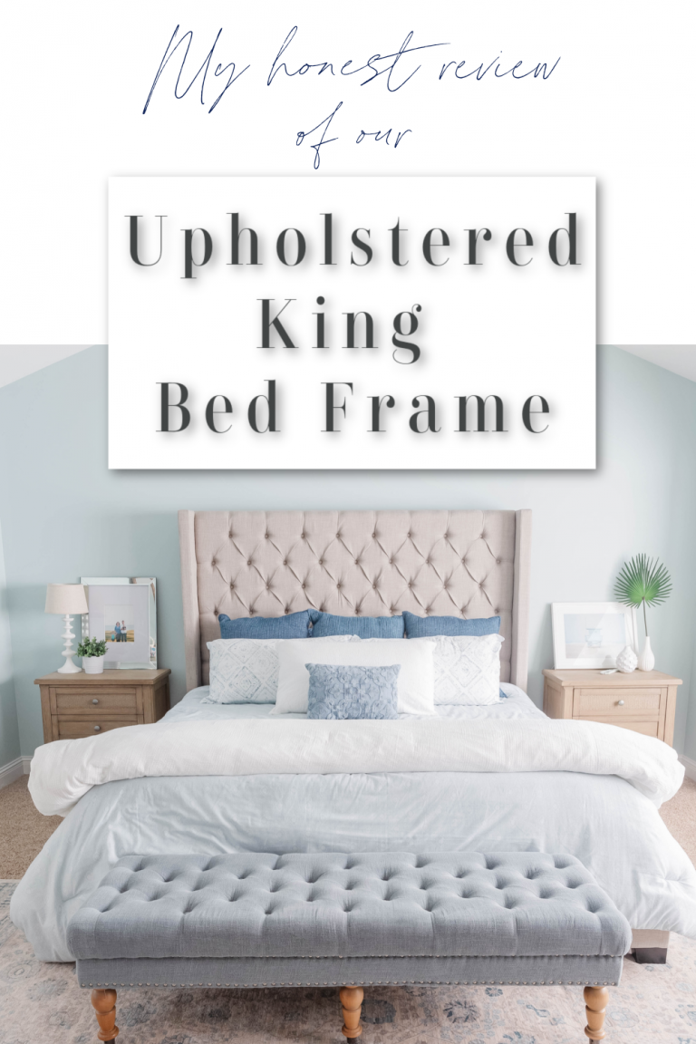 Our Upholstered King Bed Frame: My Honest Review