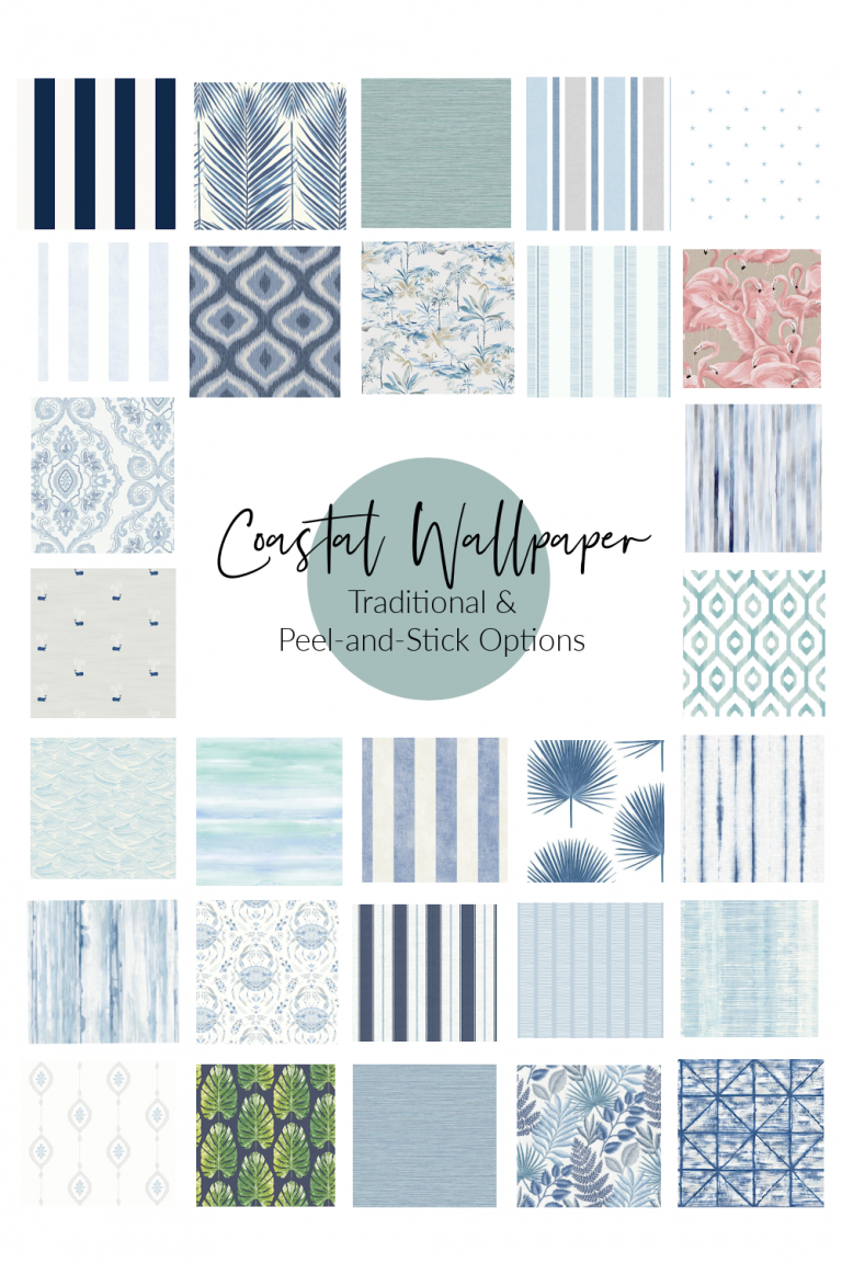 Coastal Wallpaper: Peel and Stick and Traditional Options