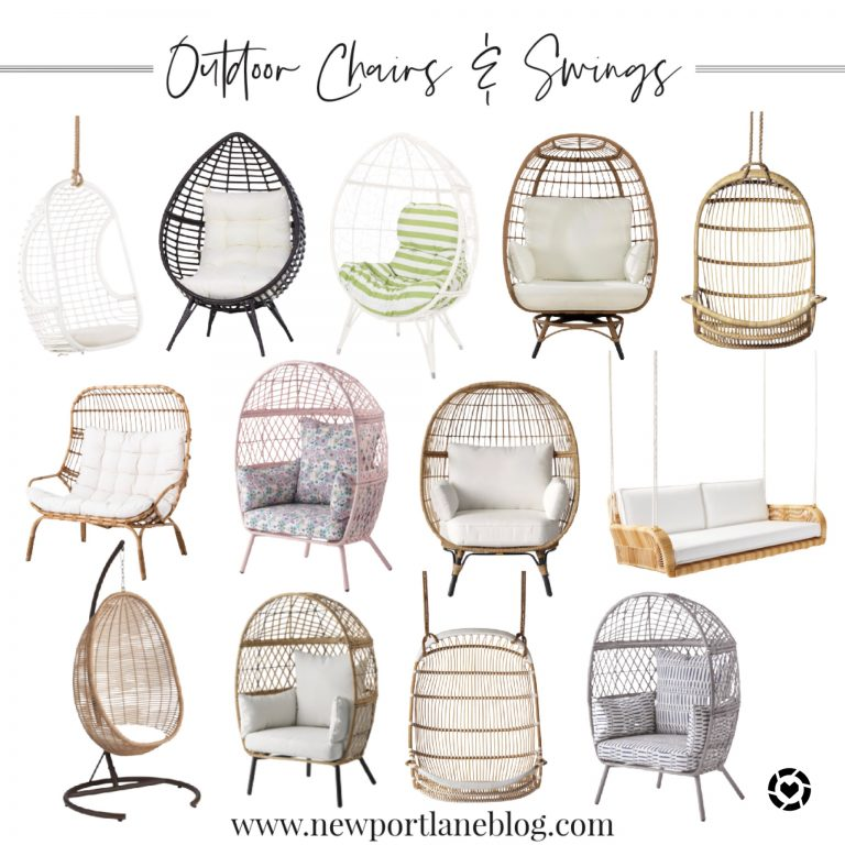 Outdoor Egg Chairs and Swings
