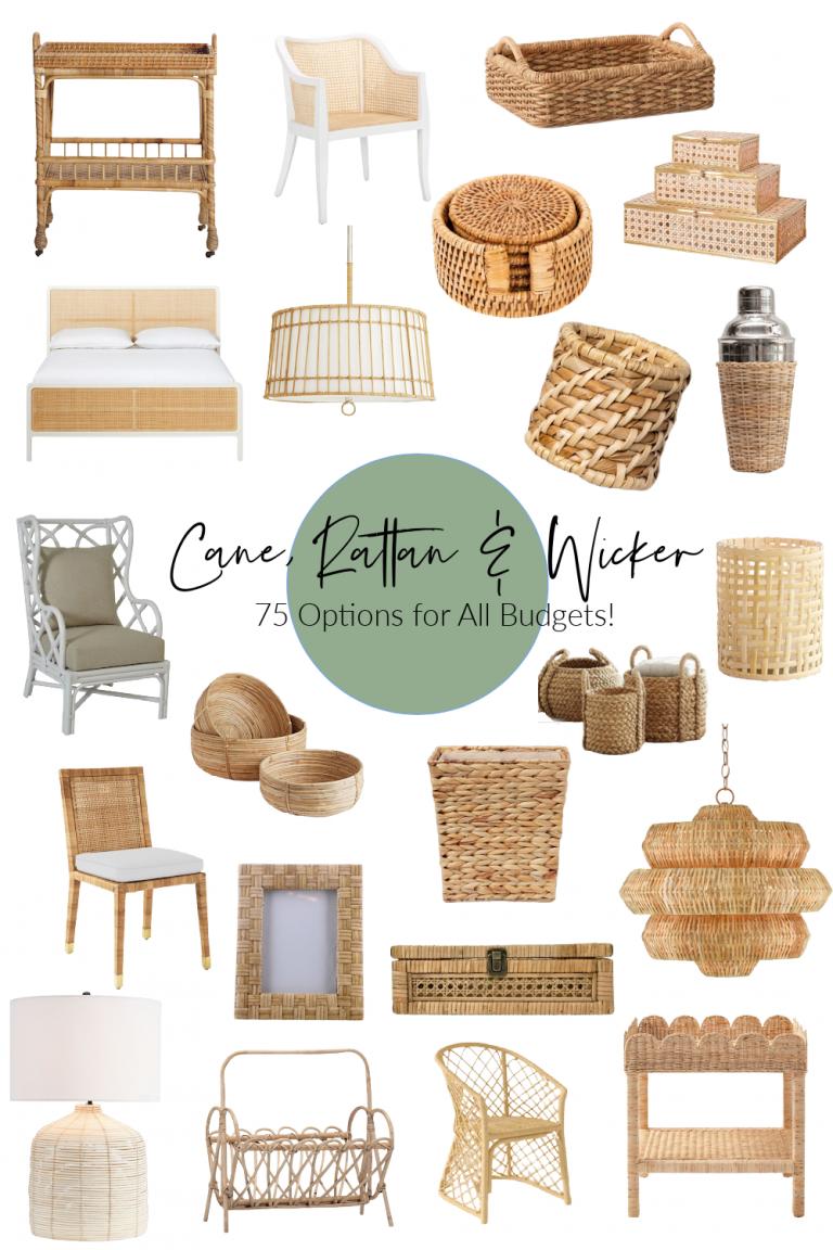 Cane, Rattan and Wicker Decor Ideas