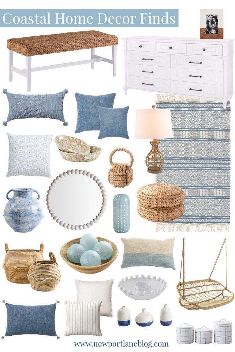 Coastal Home Decor Ideas – New Favorite Finds!