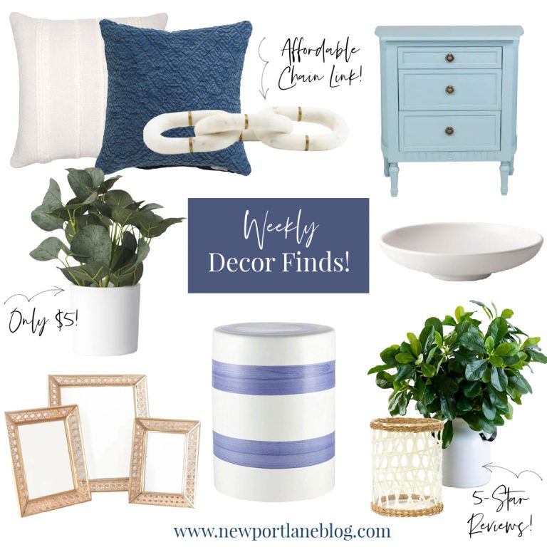 Weekly Decor Finds