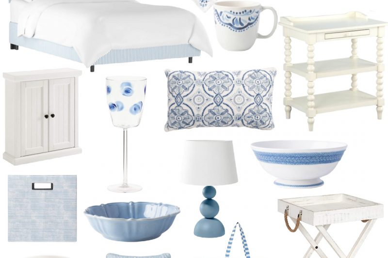 Light Blue and White Home Decor - Blue and White Home Decor - Blue Home Decor Accessories - Blue Home Decor Ideas - Blue and White Home Accessories - Blue and White Living Room Decorating Ideas - Blue Home Decor Accessories