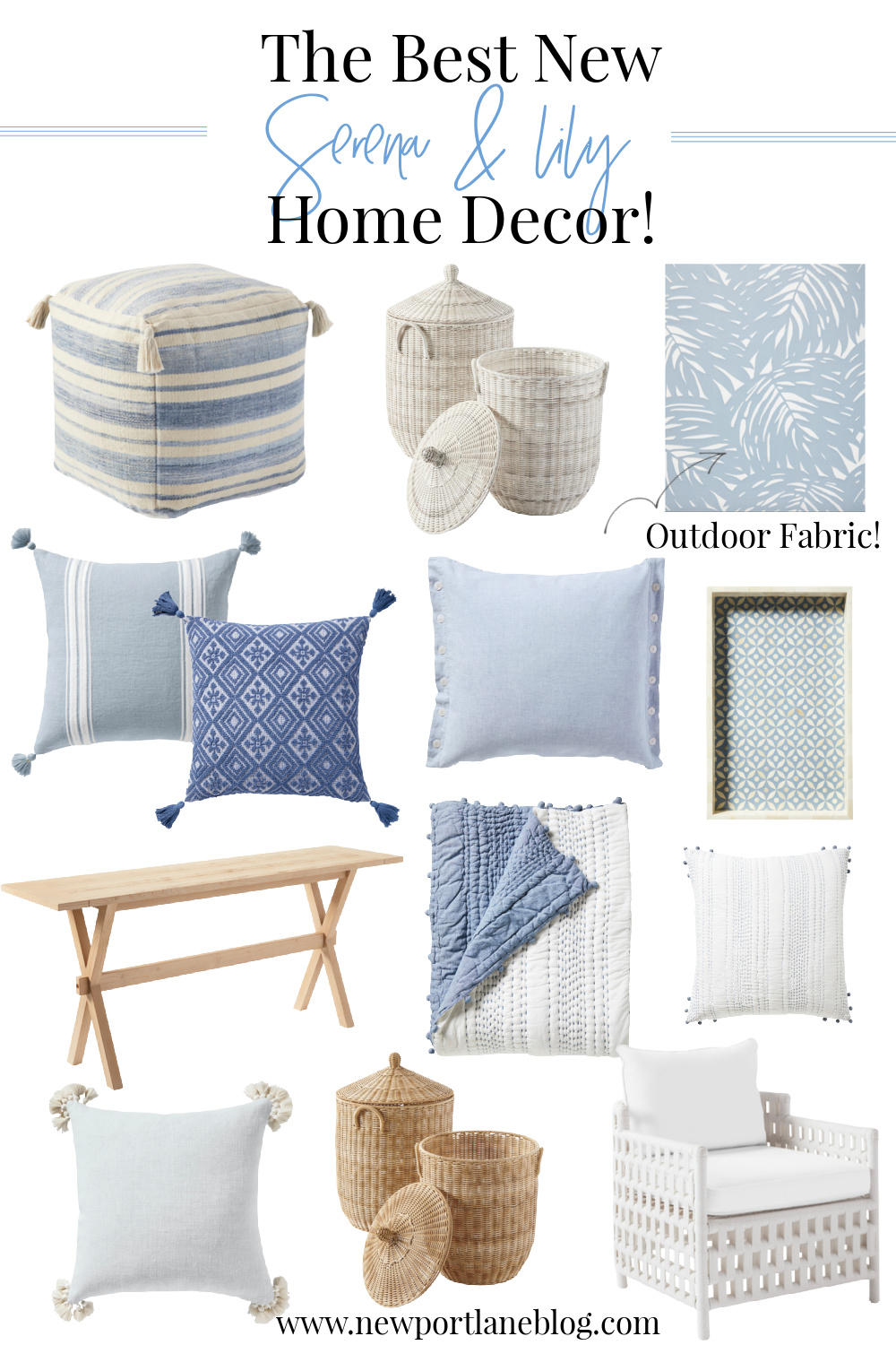 Serena and Lily – New Decor Favorites