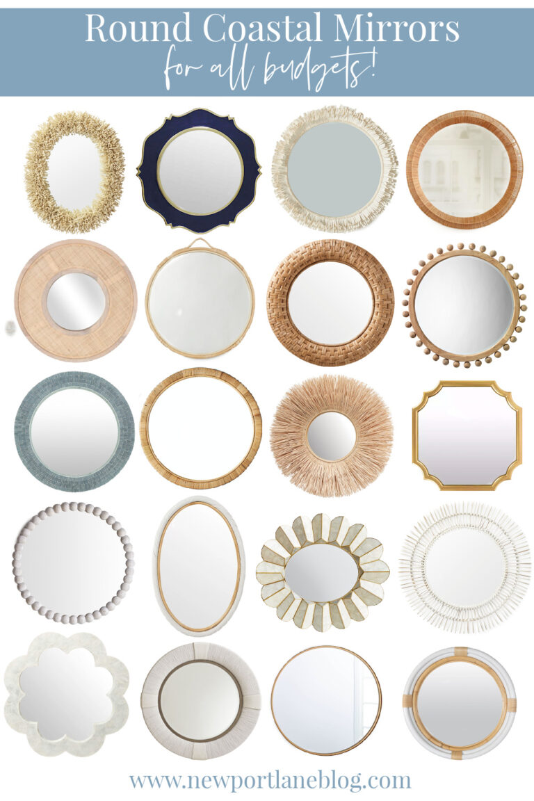 Coastal Mirrors for All Budgets